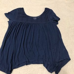 summer top with cute detailing